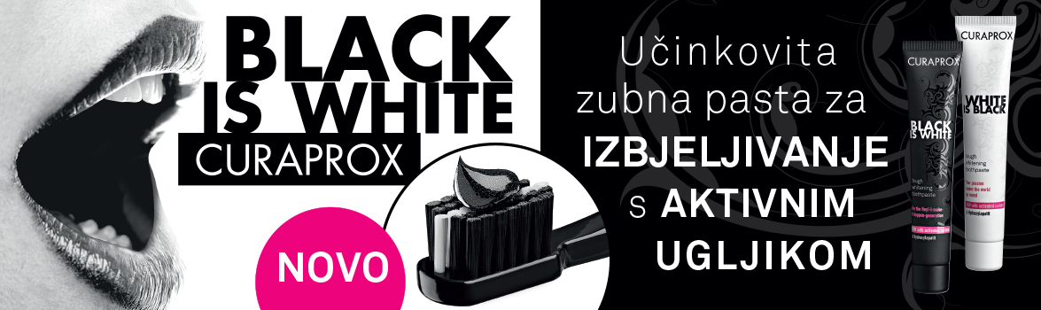 Curaprox set: Black is White